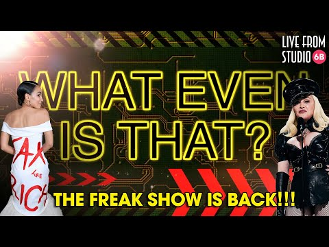 What Even Is That?! The Freak Show Is Back!